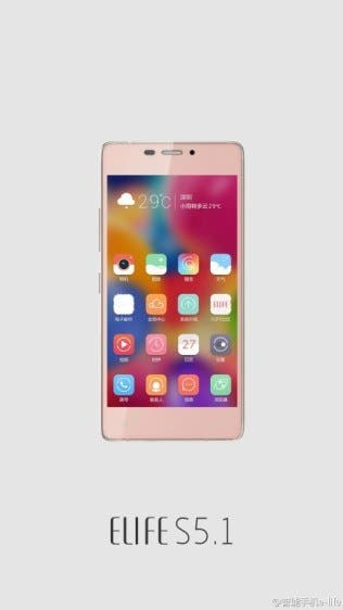 gionee-s5.1-pink