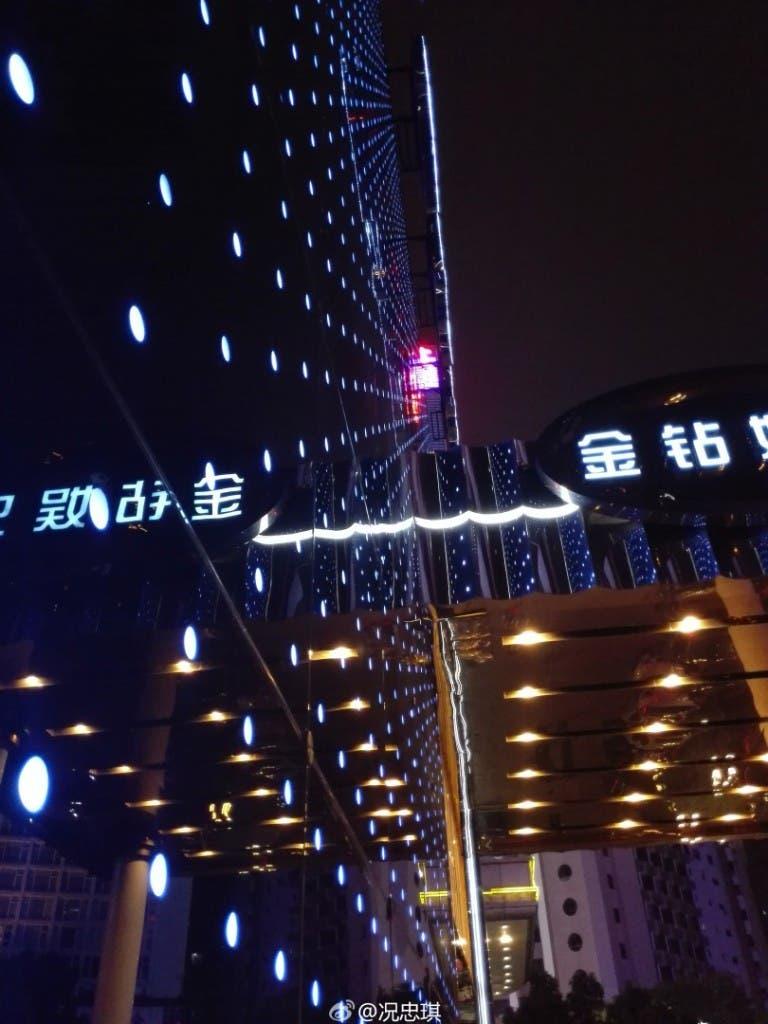 Huawei P8 snímek
