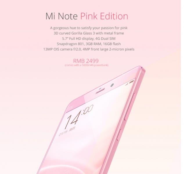 Mi Note pink _3