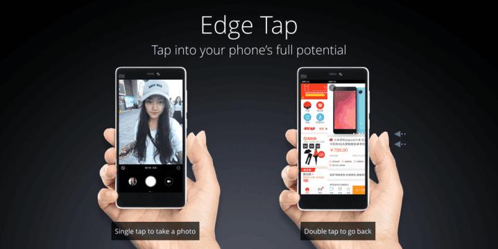 Xiaomi MI 4c snap edge