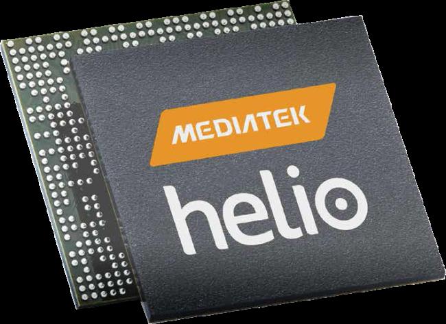 Mediatek Helio chip
