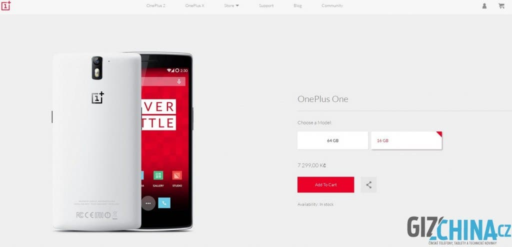 OnePlus One 16G