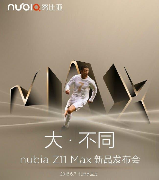 ZTE-nubia-Z11-Max-launch-invite
