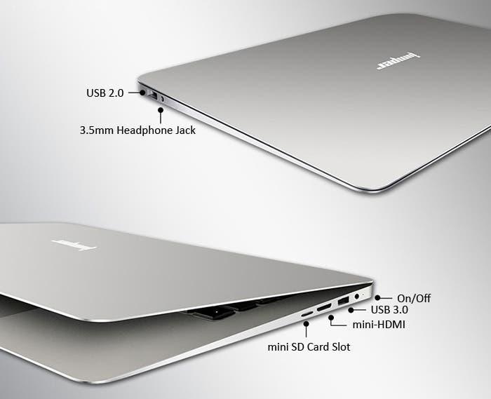 Jumper EZBook 2 konektory
