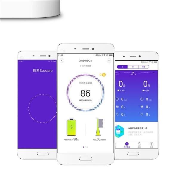 xiaomi soocare X3 _smart app
