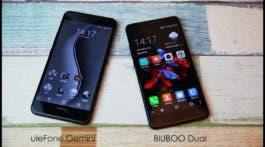 Bluboo Dual vs Ulefone Gemini