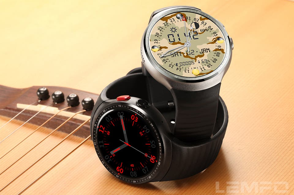 Chytré hodinky od LEMFO - LEMFO LES1 a LEMFO LEM5 - GizChina.cz 1e61f8200c