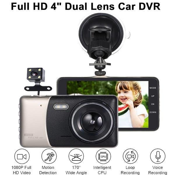 KKMOON Dual Lens Car DVR