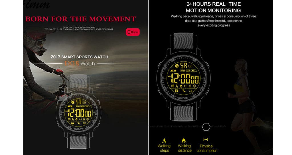 EX18 Smartwatch