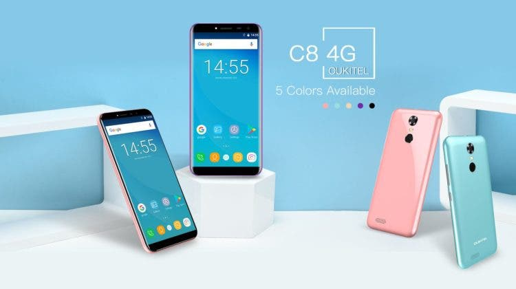 Oukitel C8 4G
