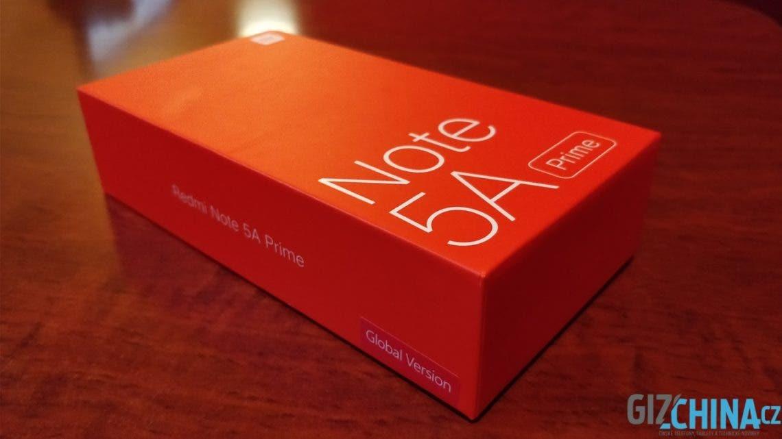 Unboxing Xiaomi Redmi Note 5A Prime Global