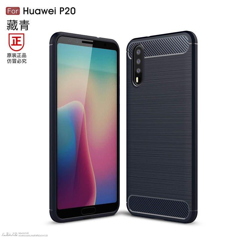Rendery Huawei P20