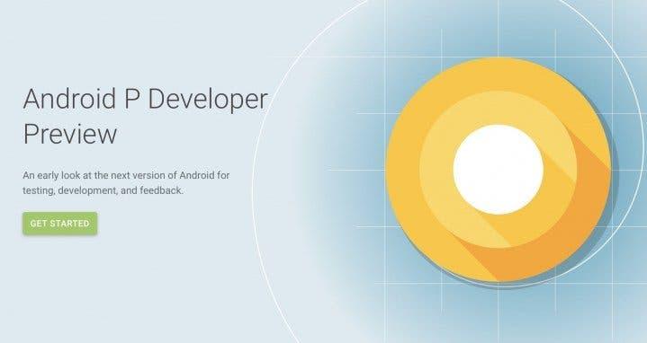 Vývojářská verze Android P