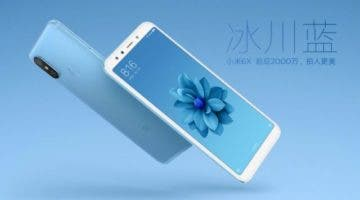 Snímky Xiaomi Mi 6X