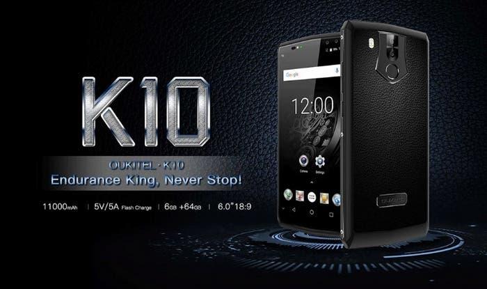 recenze Oukitel k10