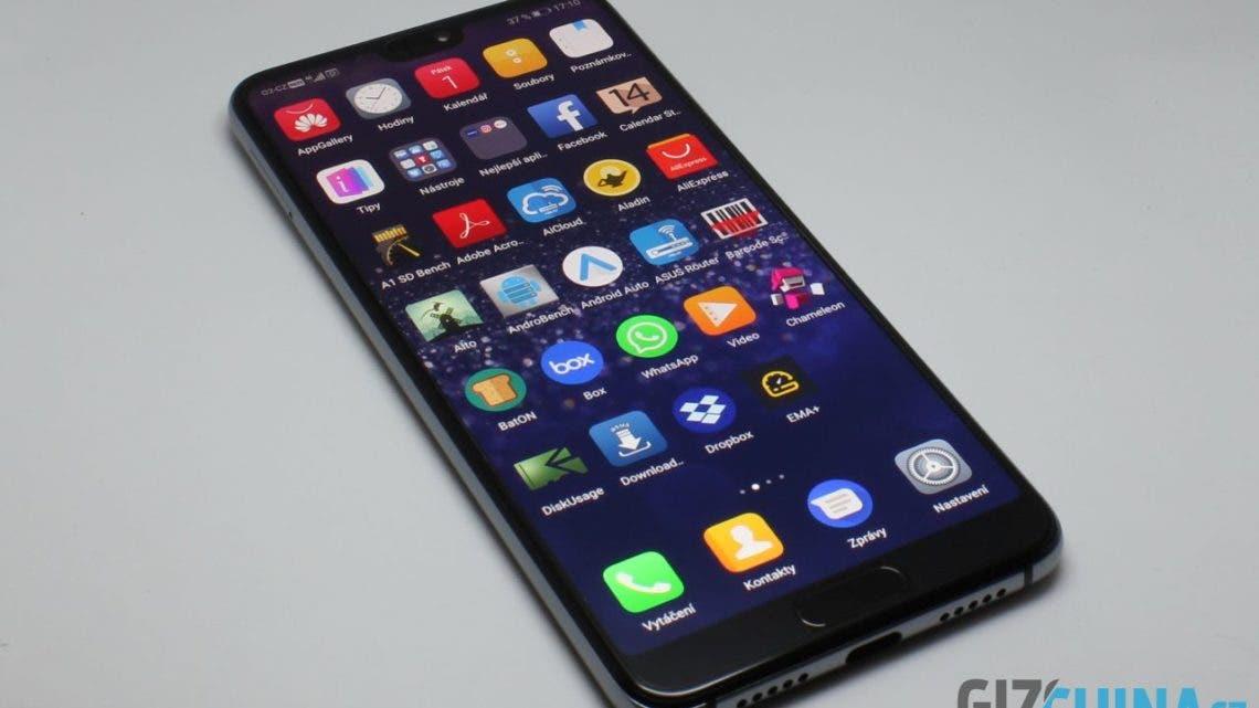 Recenze Huawei P20