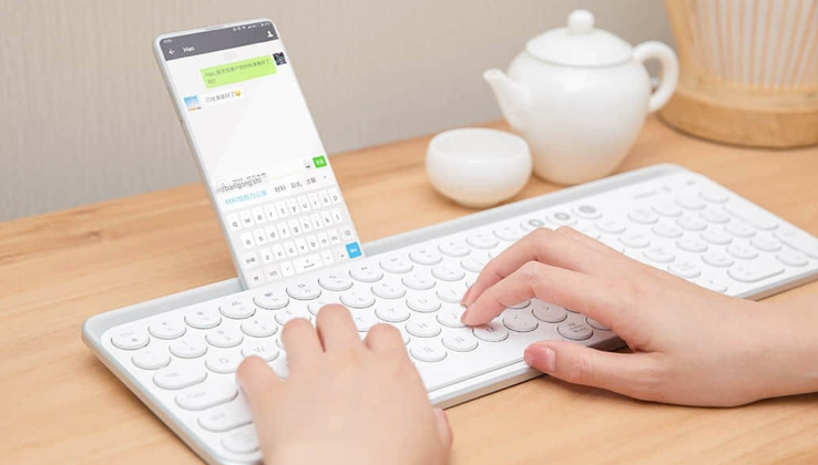 MIIIW Bluetooth Dual Mode klávesnice