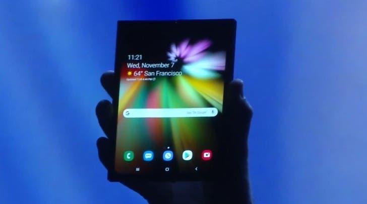 Skládací telefon od Samsungu