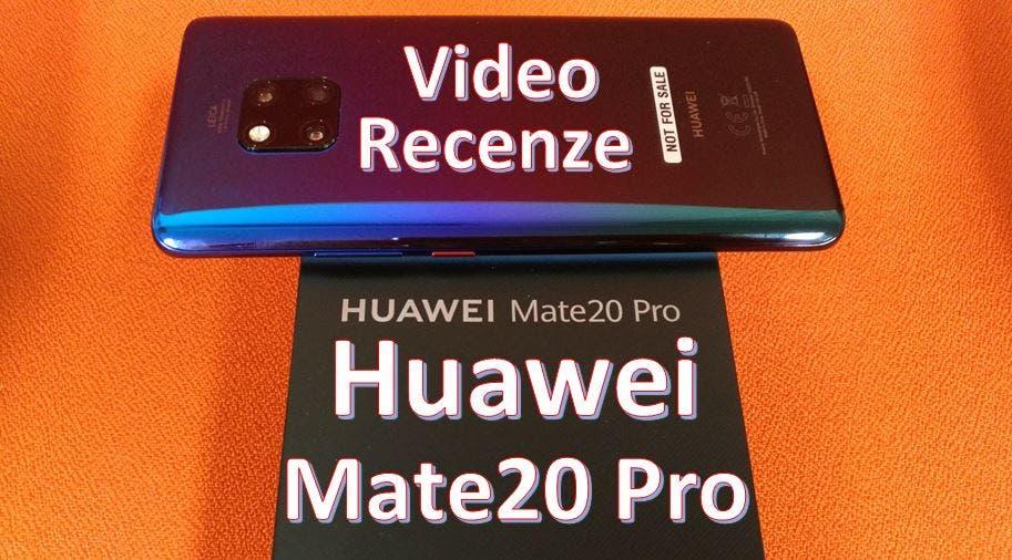 recenze Huawei Mate 20 Pro