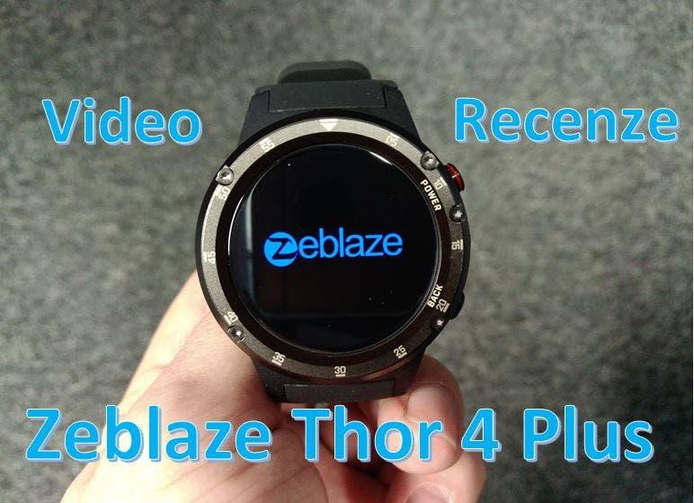 Recenze Zeblaze Thor 4 plus