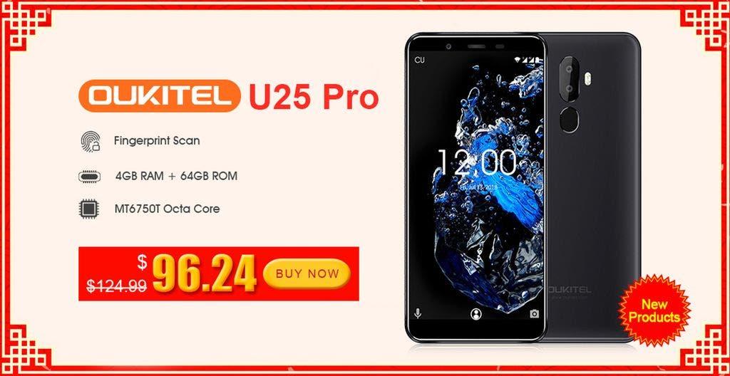 Oukitel U25 Pro