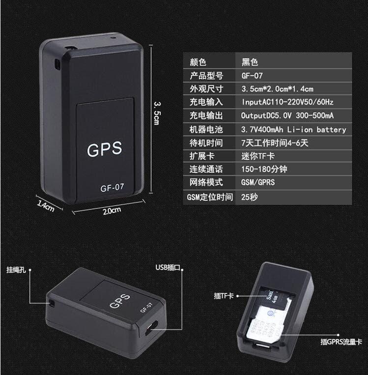 GF-07 GPS Mini