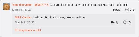 Miui reklamy