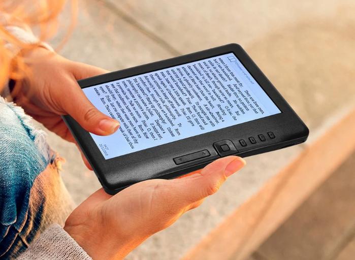 BK7019 čtečka elektronických knih