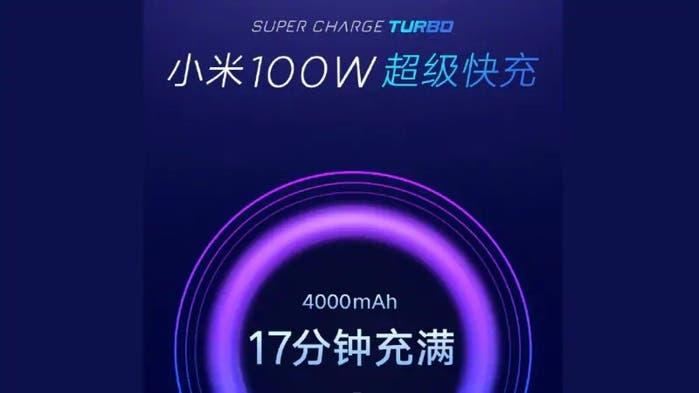 Xiaomi rychlé nabíjení