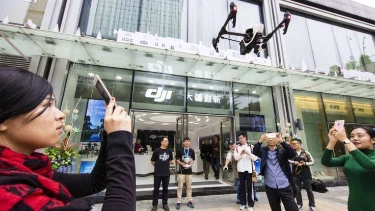 čínské drony