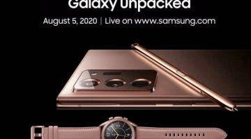 Pozvánka Galaxy Unpacked
