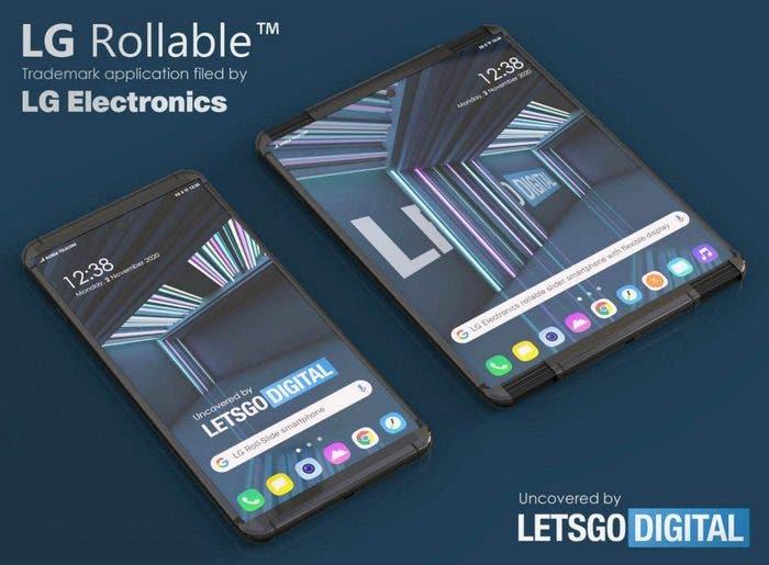 Telefon LG Rollable