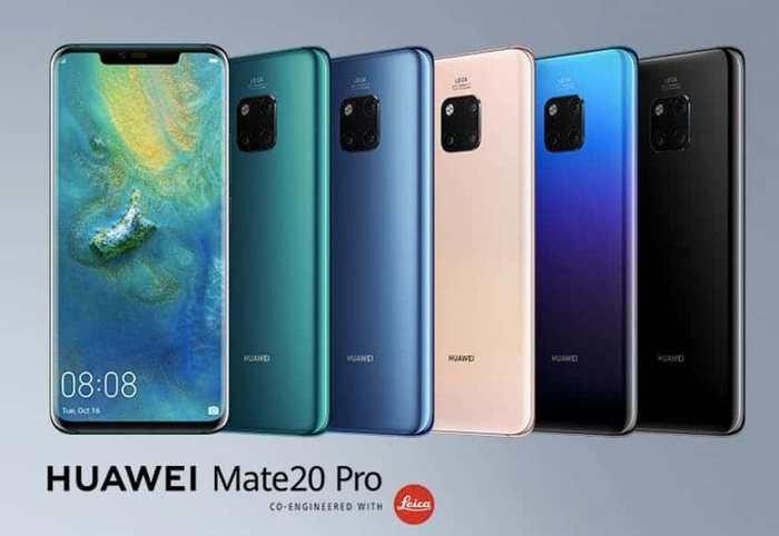 Řada Huawei Mate 20