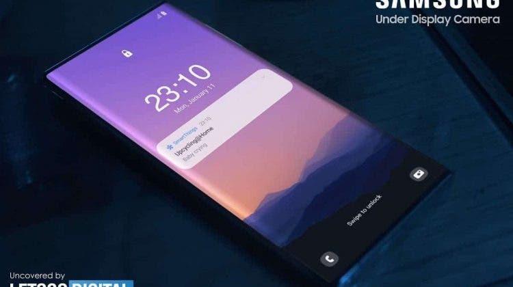 Samsung displeji
