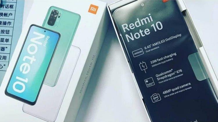 Redmi Note 10 AMOLED