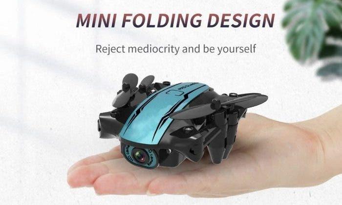 4K skládací dron CS02