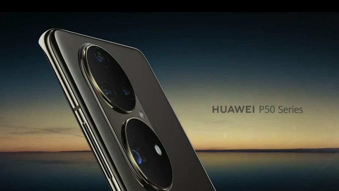 řada Huawei P50